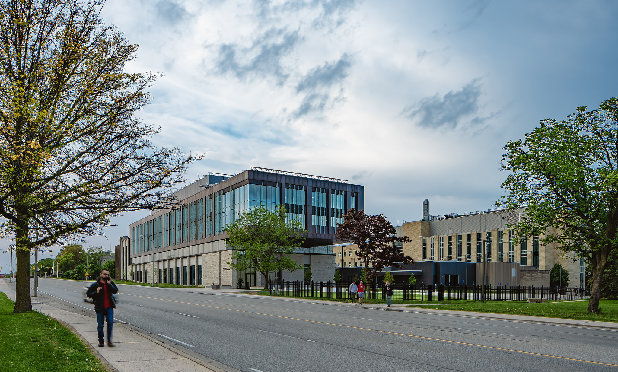 Amit Chakma Engineering Building at Western University