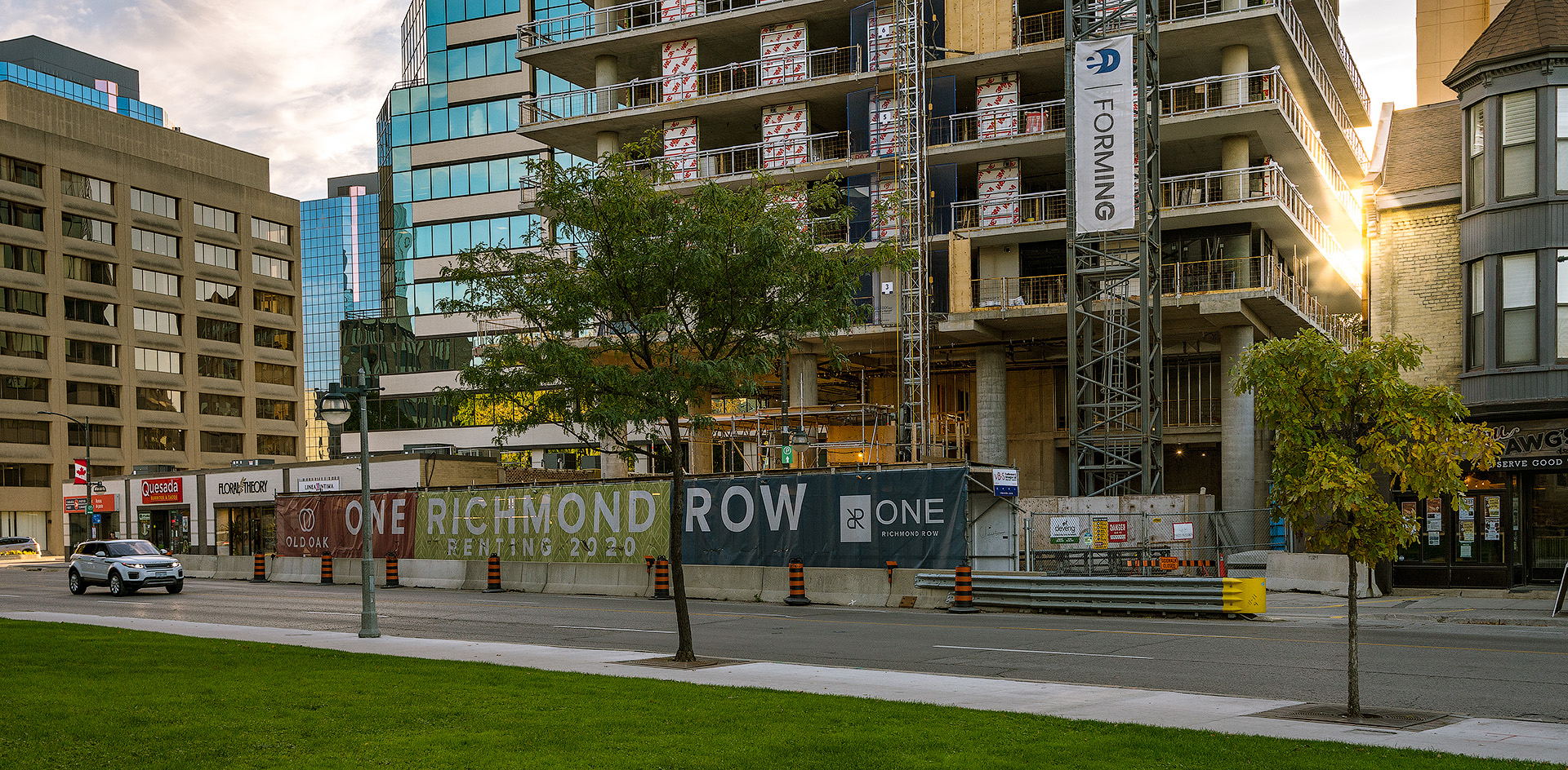 A look on Richmond Street in London Ontario by Photographer Scott Webb