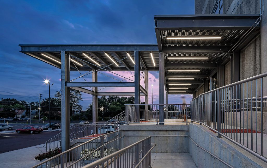 Dusk Architecture Photography at The Factory