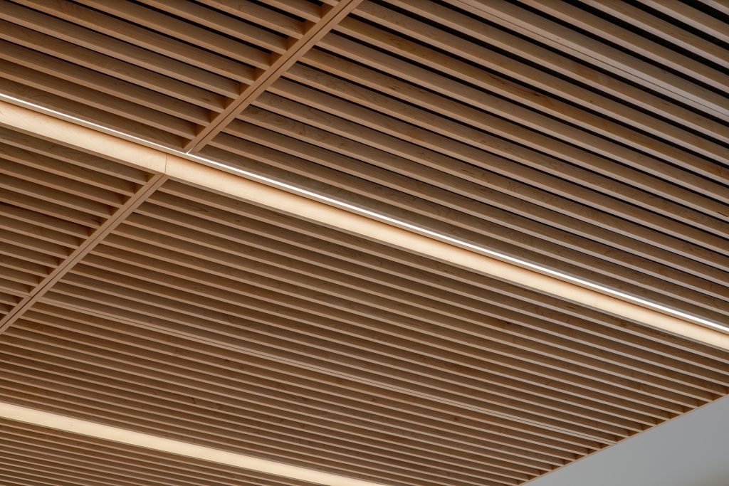 Wind Tunnel at Western University - Ceiling Detail Photograph